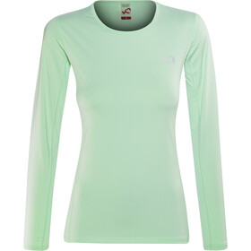 Kari Traa Nora - T-shirt manches longues Femme - turquoise